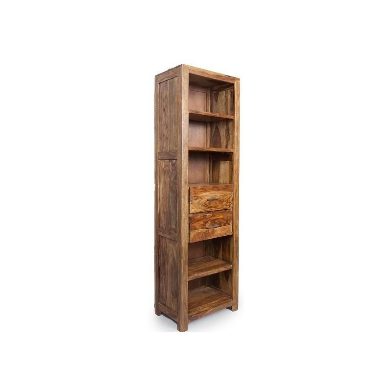 Meble z palisandru - regał drewniany z szufladami (MTR-111)