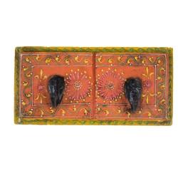 Indyjski wieszak malowany (wieszak-18)