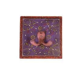 Indyjski wieszak malowany (wieszak-22)