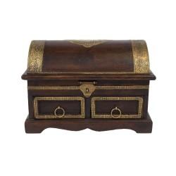 Indyjska szkatułka z ornamentem (MA-35)