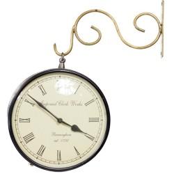 Indyjski zegar w stylu kolonialnym (Zegar-1)