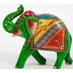 Indyjski słonik ręcznie malowany (GA-Ele-6)