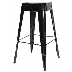 Meble Industrialne - hoker/metalowe krzesło barowe (INDS-CH-07A)