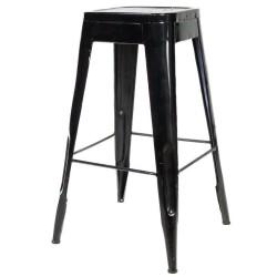 Meble Industrialne - hoker metalowe krzesło barowe stolik (INDS-CH-07A)