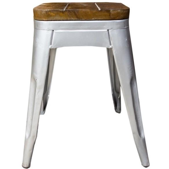 Industrialne - Metalowe krzesło  (INDS-CH-07D)