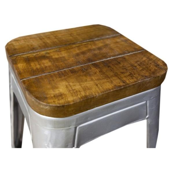Meble Industrialne - metalowy stołek (INDS-CH-07D)
