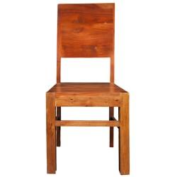 Meble loftowe z akacji - krzesło do jadalni (RD-08A)