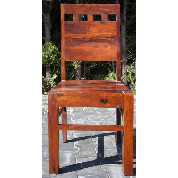 Otlet-Meble indyjskie -  klasyczne krzesło do jadalni (RD-106C-outlet)