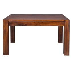 Meble indyjskie – drewniany stół do jadalni rozkładany (RD-027B)