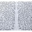 INDYJSKIE PANEL DEKORACYJNE-WHITE TREE