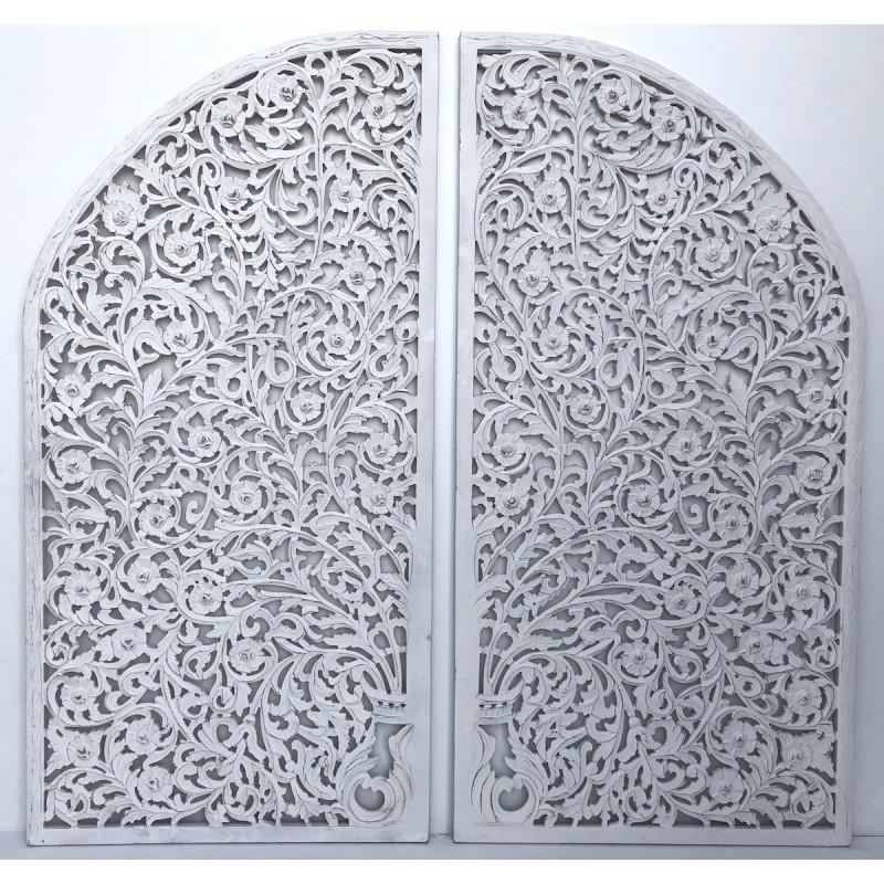 Indyjskie Panel Dekoracyjne White Tree 7037a